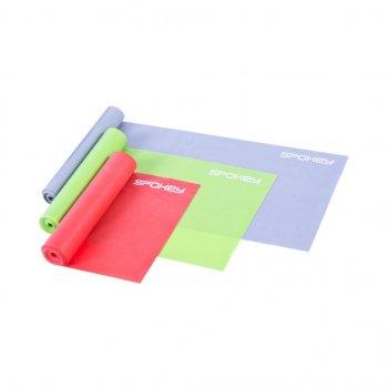 Набор резиновых лент-эспандеров Spokey SWING II Разноцветный (920959)