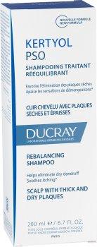 Шампунь Ducray Кертиол PSO от псориаза 200 мл (3282770205886)