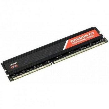 Память DDR4 4Gb 2133 MHz, AMD Radeon R7, 15-15-15-36, 1.2V, с радиатором (R744G2133U1S)