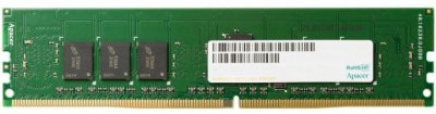 Память DDR4 4Gb, 2400 MHz, Apacer, 17-17-17, 1.2V (AU04GGB24CETBGH)