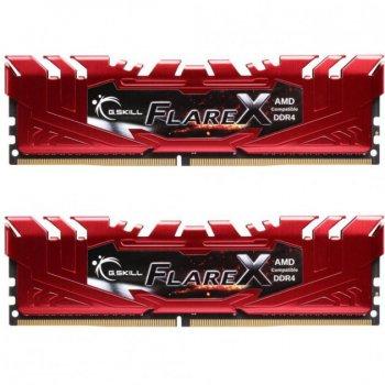 Память DDR4 8Gb x 2 (16Gb Kit), 2400 MHz, G.Skill Flare X (F4-2400C15D-16GFXR)