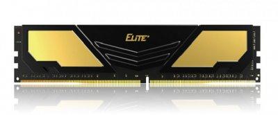 Пам'ять DDR4 16Gb 2400 MHz Team Elite Plus Gold/Black, 16-16-16-36, 1.2 V, з радіатором (TPD416G2400HC1601)