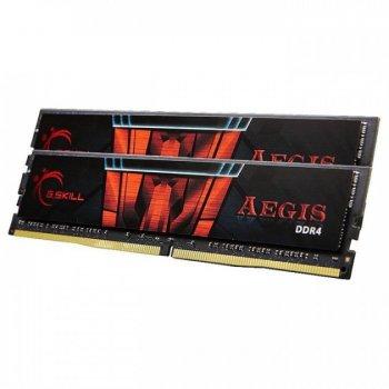 Память DDR4 8Gb x 2 (16Gb Kit) 2666 MHz, G.Skill Aegis, 19-19-19-43, 1.2V (F4-2666C19D-16GIS)