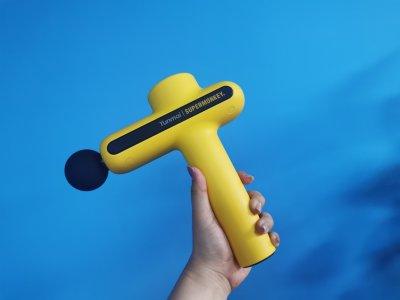 Ручной массажный пистолет YUNMAI SuperMonkey Желтый (YM101MM)