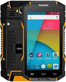Защищенный мобильный смартфон Huadoo HG06 orang 6000mAh