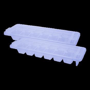 Форма для льда Premium 2 шт сиреневая Irak Plastik