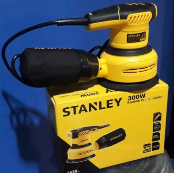Шлифмашина эксцентриковая сетевая Stanley SS30
