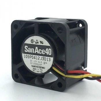 Вентилятор для корпуса 1U SANYO-DENKI 40х40х28мм (109P0412J3013) Б/У