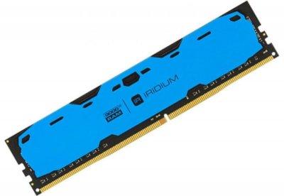 Оперативная память Goodram IRDM Blue (DIMM, DDR4, 4Gb, 2400MHz, IR-B2400D464L15S/4G) Б/У