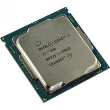 Процессор Intel Core i5-7500 (S1151/4x3.4GHz/8GT/s/6MB/65 Вт/BX80677I57500) Б/У