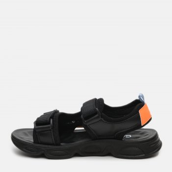 Сандалии Clibee Z851 Black-Orange