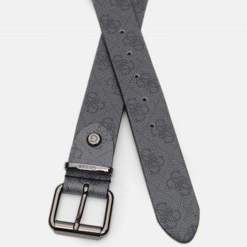 Мужской кожаный ремень Guess BM7351-VIN35-COA M Coal (7618483540208)