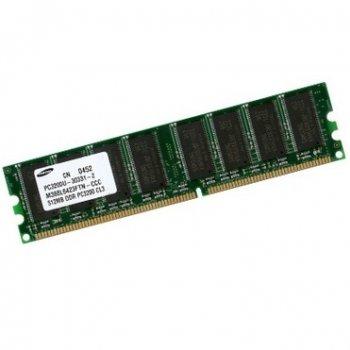 Оперативна пам'ять 512 МБ, DDR, Samsung (для настільних ПК, 400 МГц, 2.5, CL3, M368L6523CUS-CCC БУ
