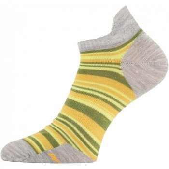 Шкарпетки Lasting WWS жіночі сірі/жовті