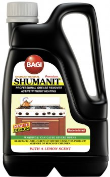 Чистящее средство Bagi Шуманит анти-жир 3 л (7290005310140)