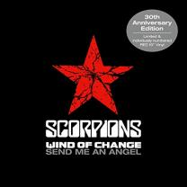 Виниловая пластинка Scorpions – Wind Of Change / Send Me An Angel 2020 (5393045, Ltd, Red) Mercury/EU Mint (art.239375)
