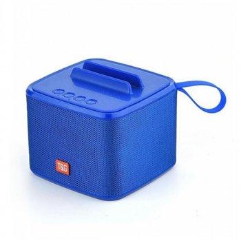 Портативна колонка-годинник SPS UBL T&G 801 bluetooth blue