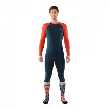 Носки Dynafit FT Graphic Socks Синий-Оранжевый