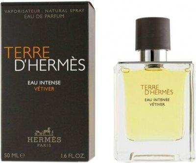 Парфюмированная вода для мужчин Hermes Terre D'Hermes Eau Intense Vetiver 50 мл (3346131430734/3346131431427)