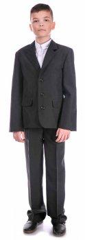 Классический пиджак Nega Нега для мальчика, черный, 140 р (ШФН000121_34-140)