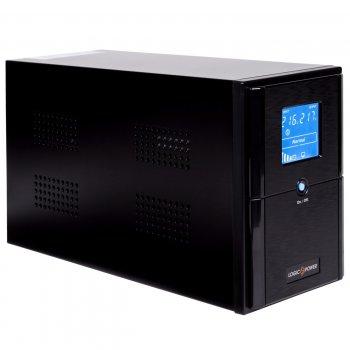 ИБП LogicPower LPM-UL1100VA, Lin.int., AVR, 3 x євро, USB, метал