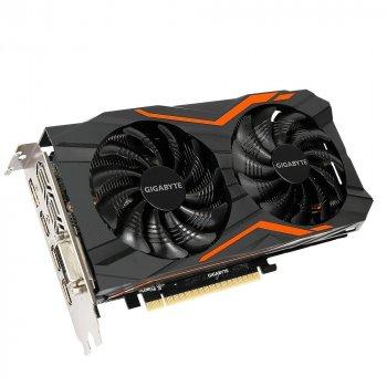 Gigabyte PCI-Ex GeForce GTX 1050 TI OC 4GB GDDR5 (128bit) (1316/7008) (DVI, HDMI, DisplayPort) (GV-N105TOC-4GD) refurbished