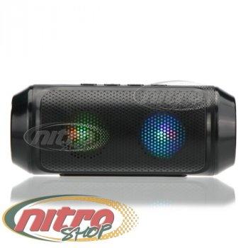 Портативна bluetooth колонка Q610 MP3 FM usb, AUX Чорна