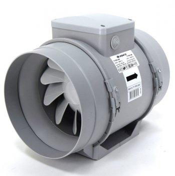 Канальный вентилятор Вентс ТТ ПРО 100 серый