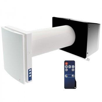 Проветриватель Blauberg Vento Expert A50-1 Pro (для стен от 250 мм до 490 мм) белый