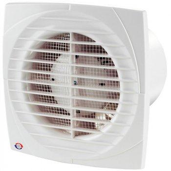 Бытовой вентилятор Вентс 100 Д К (обратный клапан) белый