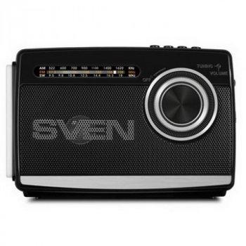 Радіоприймач Sven SRP-535 Black UAH