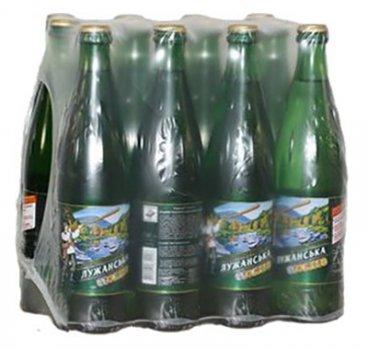 Упаковка минеральной газированной воды Лужанська 0.5 л х 12 бутылок (4820001830026)
