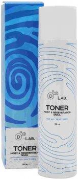 Тонер для лица D2 Lab Муцин Улитки Toner Moist & Regeneration Snail 150 мл (8809540516949)