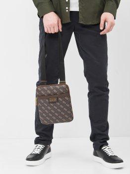 Мужская сумка Guess HMVEZL-P1123 Dark Brown (7618483546606)