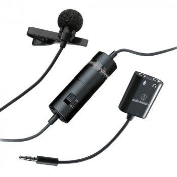 Мікрофон Audio-Technica ATR3350xIS для смартфонів