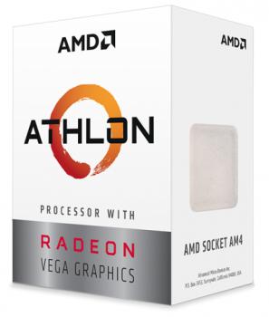 Процесор AMD Athlon 3000G YD3000C6M2OFH (sAM4, 3.5 Ghz) Tray (6671587)