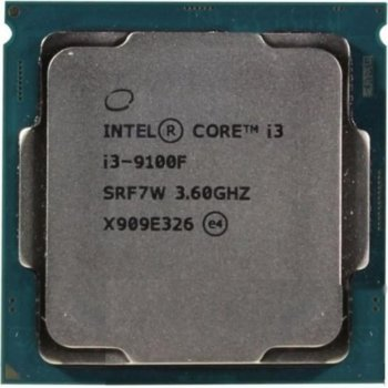 Процесор Intel Core i3-9100F CM8068403358820 (s1151, 3.6 GHz) Tray (6673857)