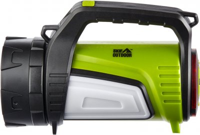 Фонарь кемпинговый SKIF Outdoor Big Buster Black/Green (3890027)