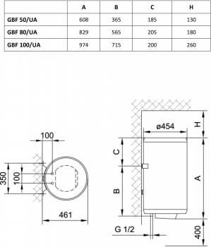 GORENJE GBF 50 V9