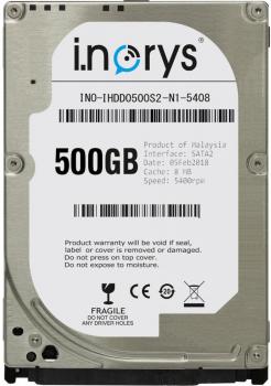 Жорсткий диск i.norys 500GB INO-IHDD0500S2-N1-5408 5400rpm 8MB 2.5 SATA II