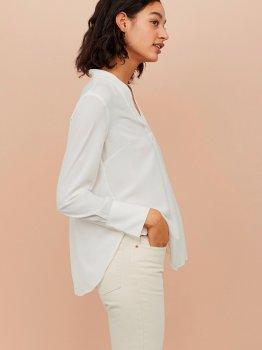 Блузка H&M 0739953-9 Біла