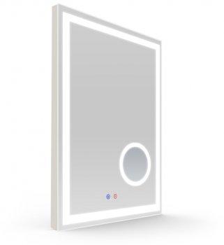 Зеркало VOLLE 16-13-600M60x80 см с подсветкой, подогревом и 5x линзой