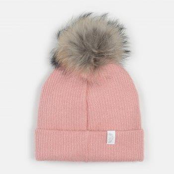 Зимняя шапка Dembohouse Эстер 21.01.015 Розовая (ROZ6400023854)