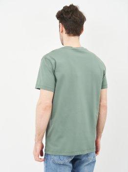 Футболка Calvin Klein Jeans Small Chest Monogram Ss J30J314267-LDT Duck Green