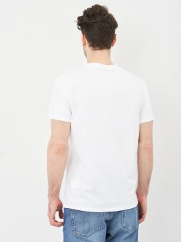 Футболка Calvin Klein Jeans Monogram Pocket Tee J30J317294-YAF Ck White