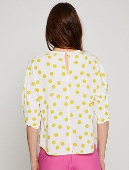 Блузка Koton 8YAK68291PW Yellow Design