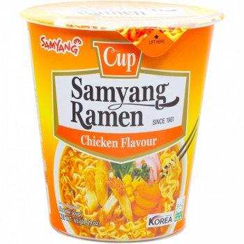 Суп рамьон зі смаком курки у стакані Samyang 65г