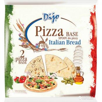 Упаковка основ для пиццы Dijo Пшеничные 230 г х 4 шт (5900928001651)