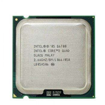 Процесор INTEL Core2QUAD Q6700 LGA 775 4 ЯДРА 2.66 GHz/ 8 MB/ 1066 Mhz s775 Tray Б/У