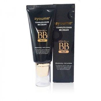 Мини-версия солнцезащитного ББ-крема AYOUME COMPLETE COVER BB CREAM SPF50+ PA++++ - 20 мл